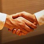 Handshake ca. 1980s-1990s