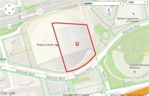 Government development project - Rogers Centre parcel of land #1 - 4.459 acres